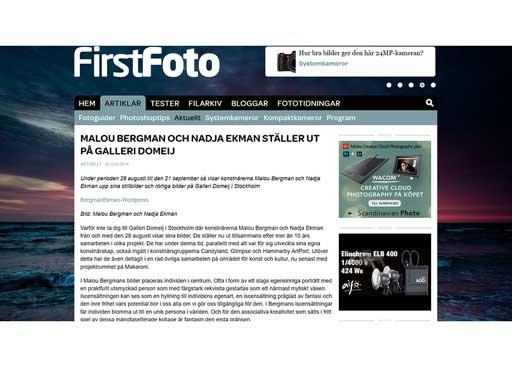 Bild med länk till http://www.firstfoto.se/artiklar/malou-bergman-och-nadja-ekman-staller-ut-pa-galleri-domeij/